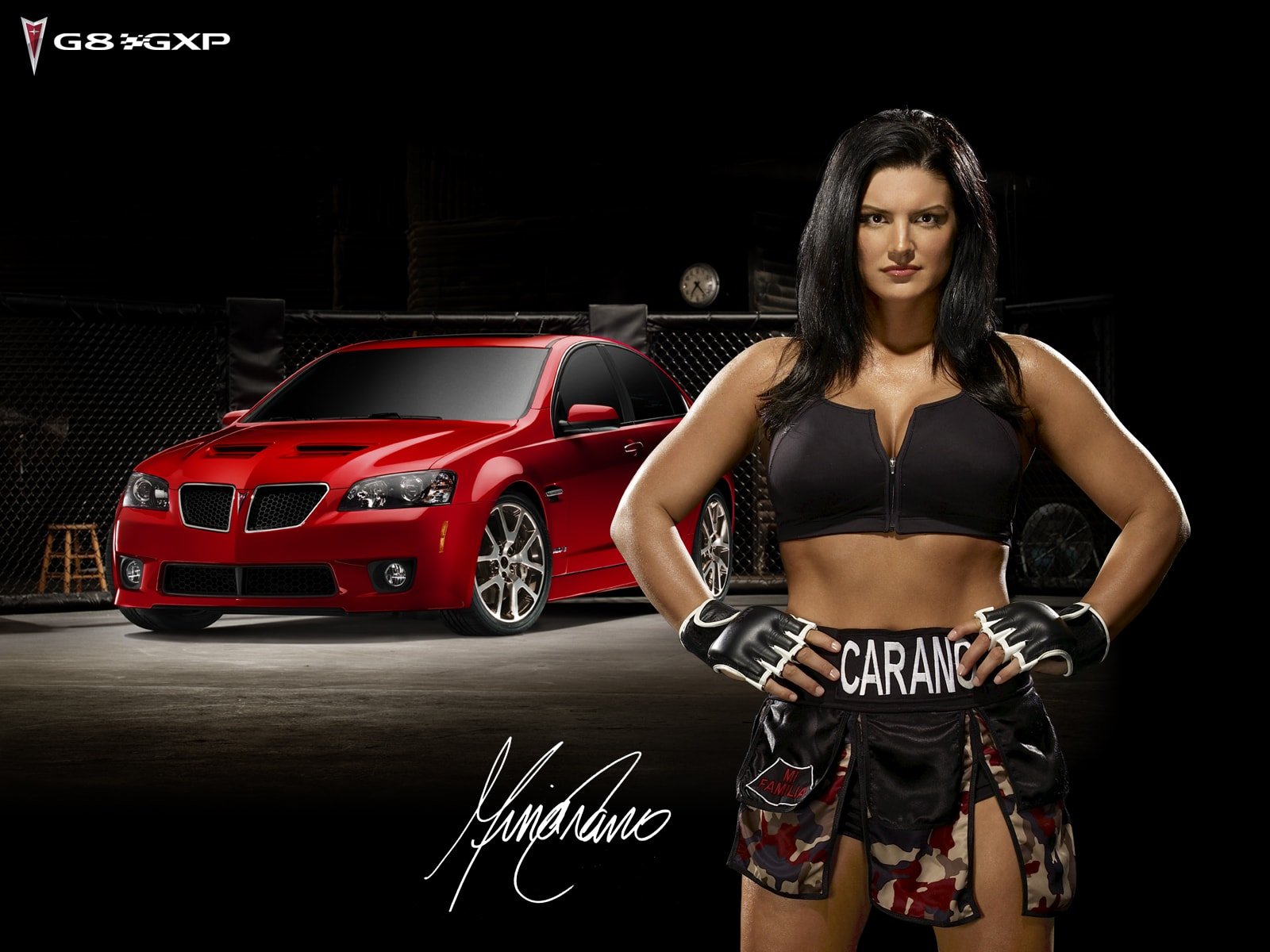 Gina Carano Wide wallpapers
