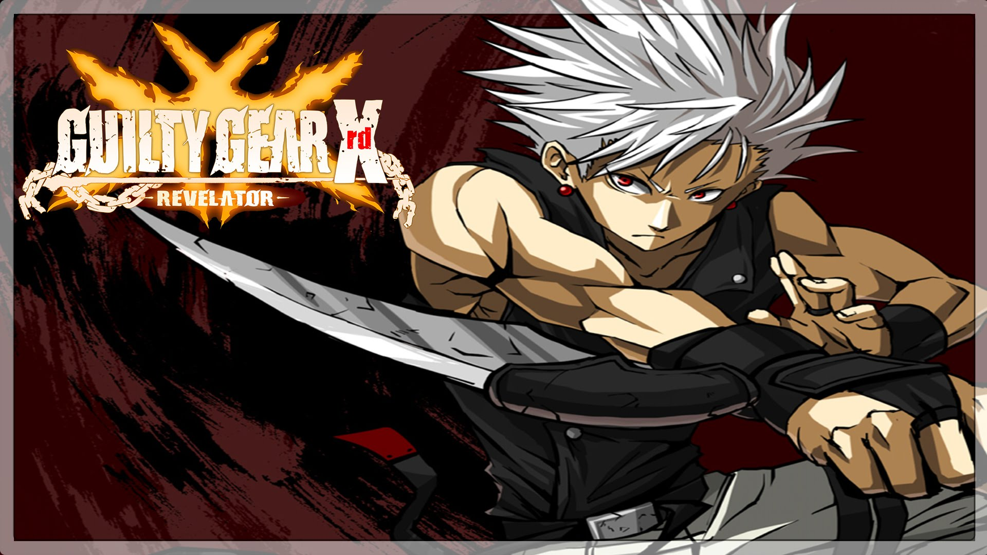 Guilty Gear: Chipp Zanuff Desktop wallpaper