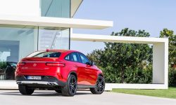 Mercedes-Benz GLE coupe wallpaper for mobile