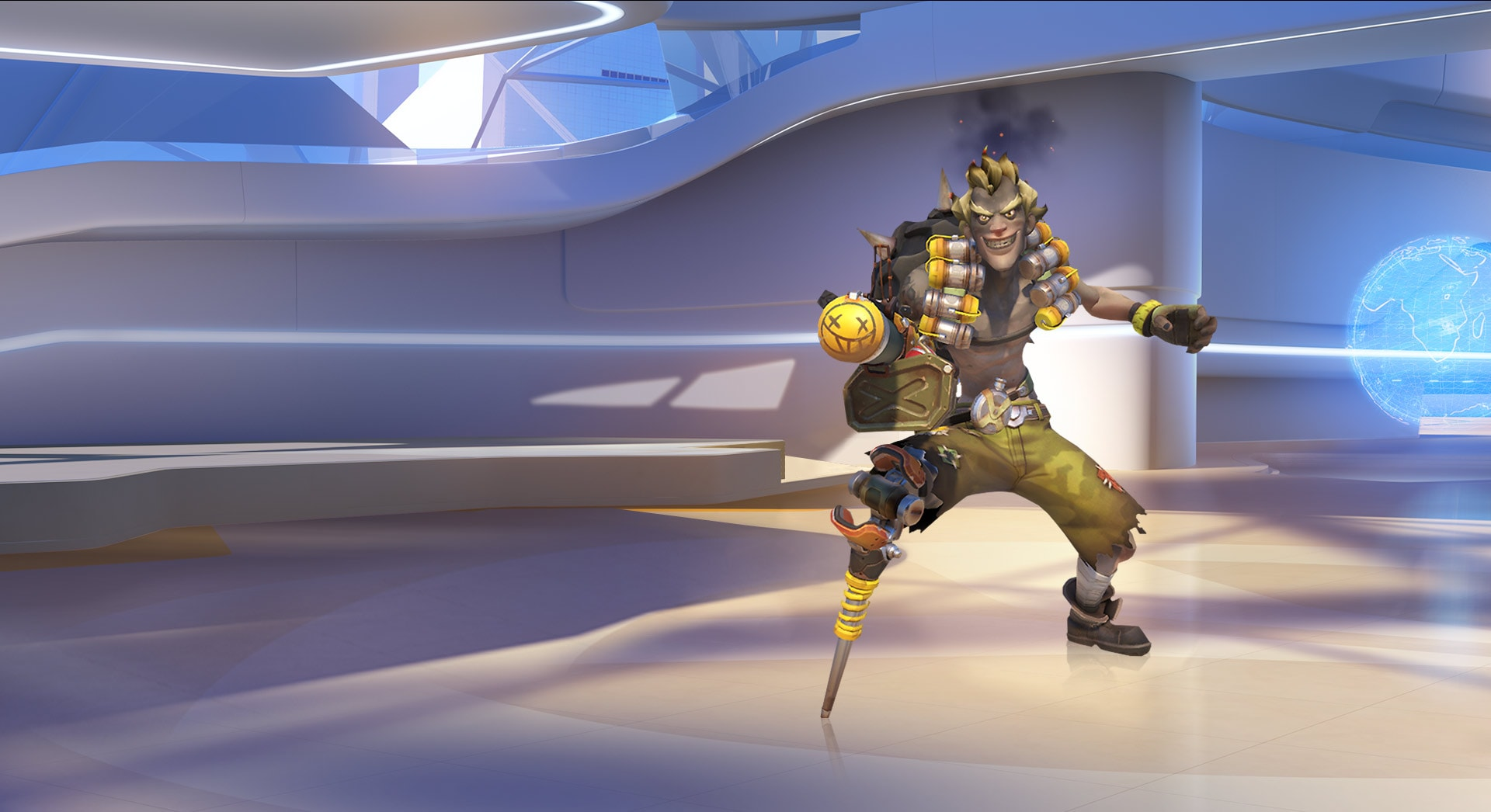 Overwatch : Junkrat High