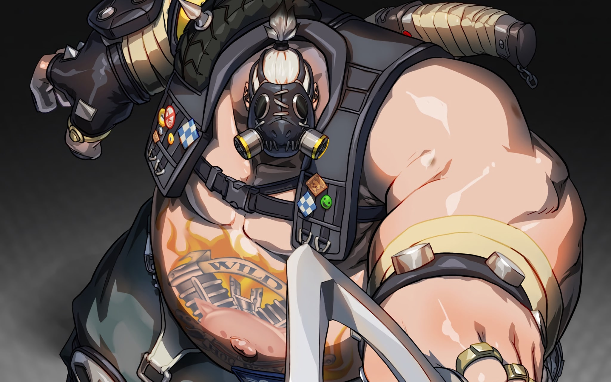 Overwatch : Roadhog High