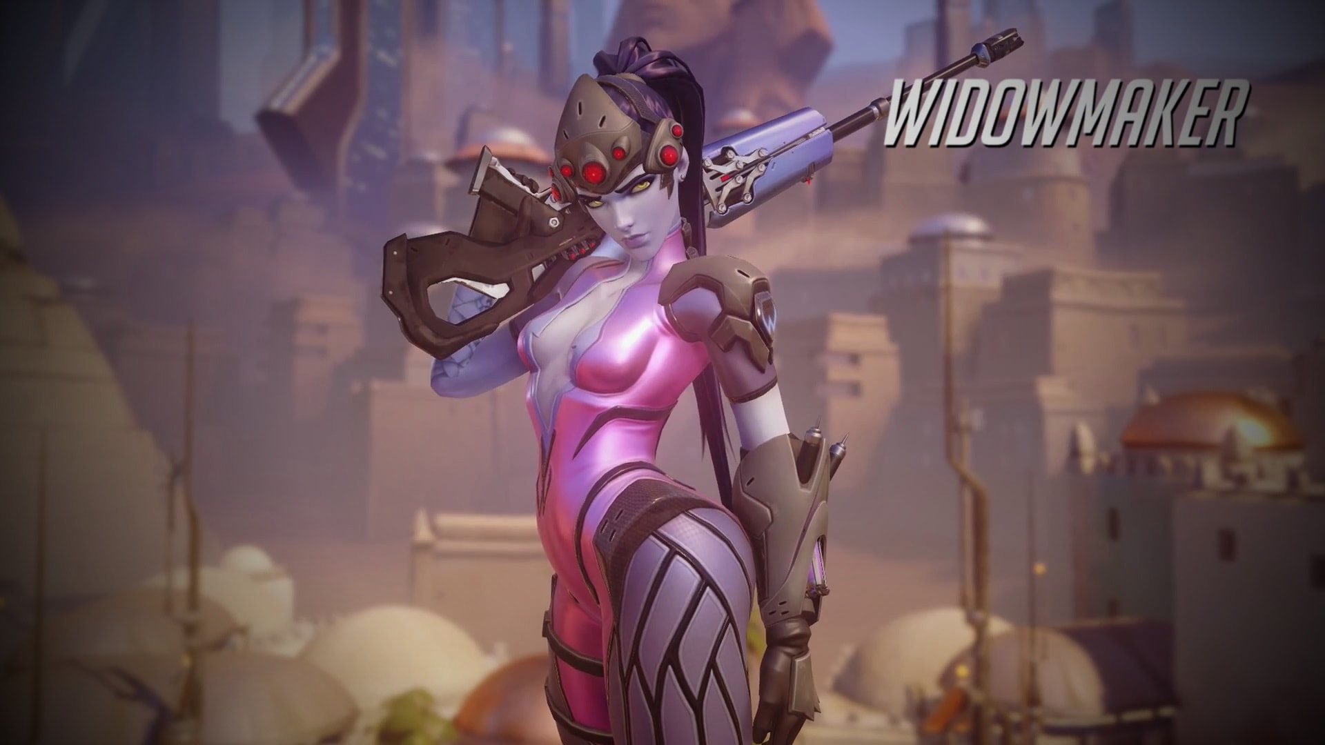Overwatch : Widowmaker High