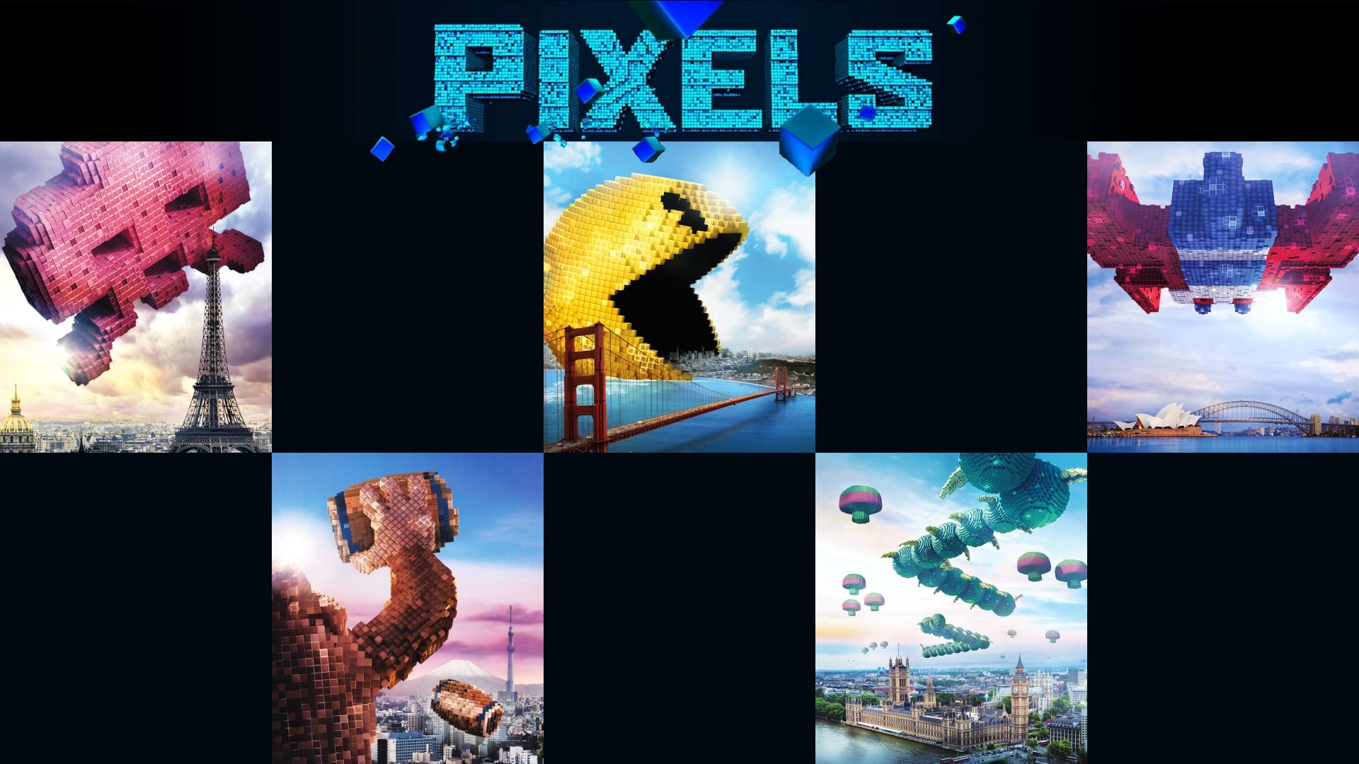 Pixels High