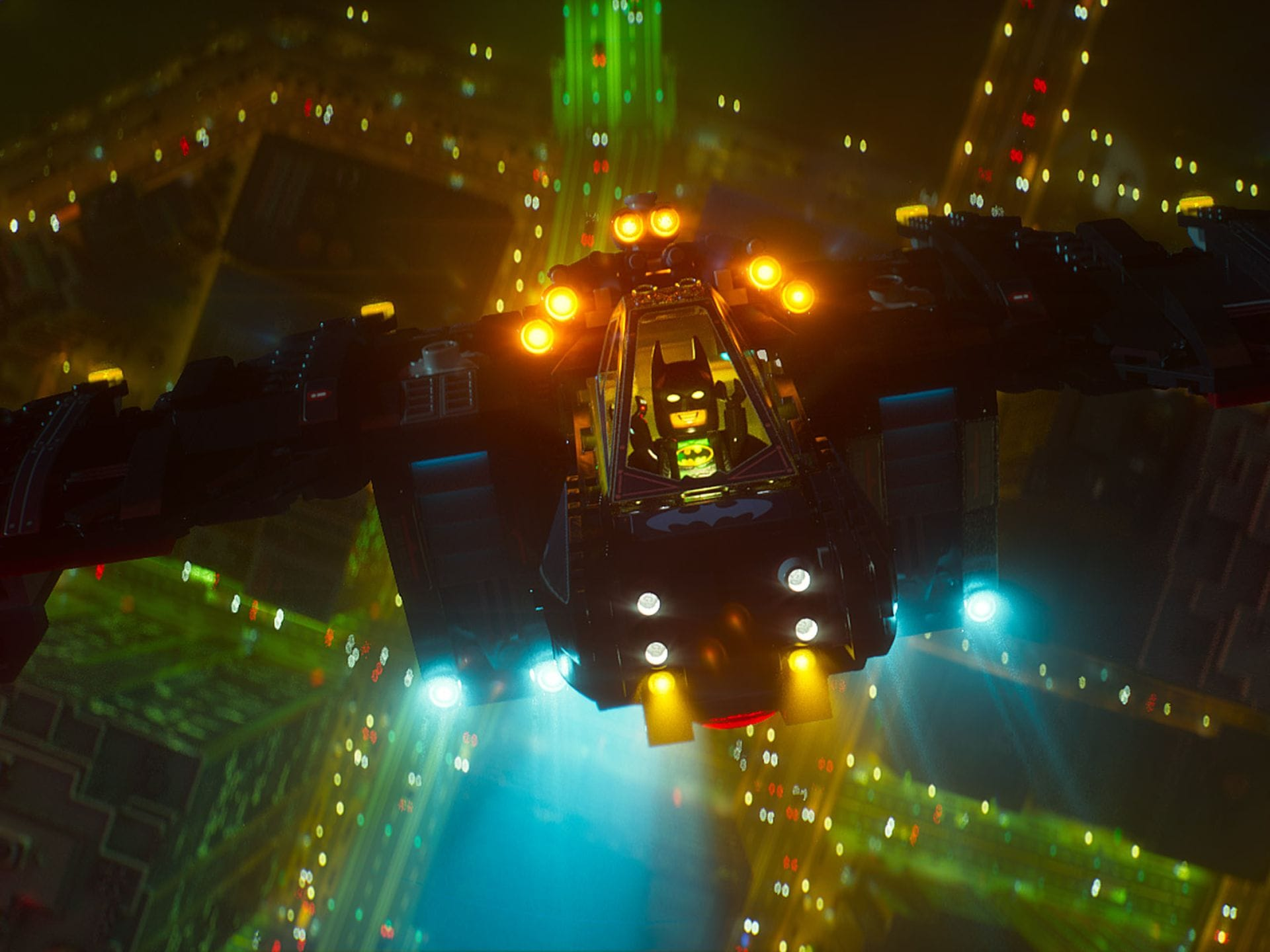 The Lego Batman Movie High
