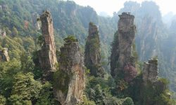 Tianzi Mountain High