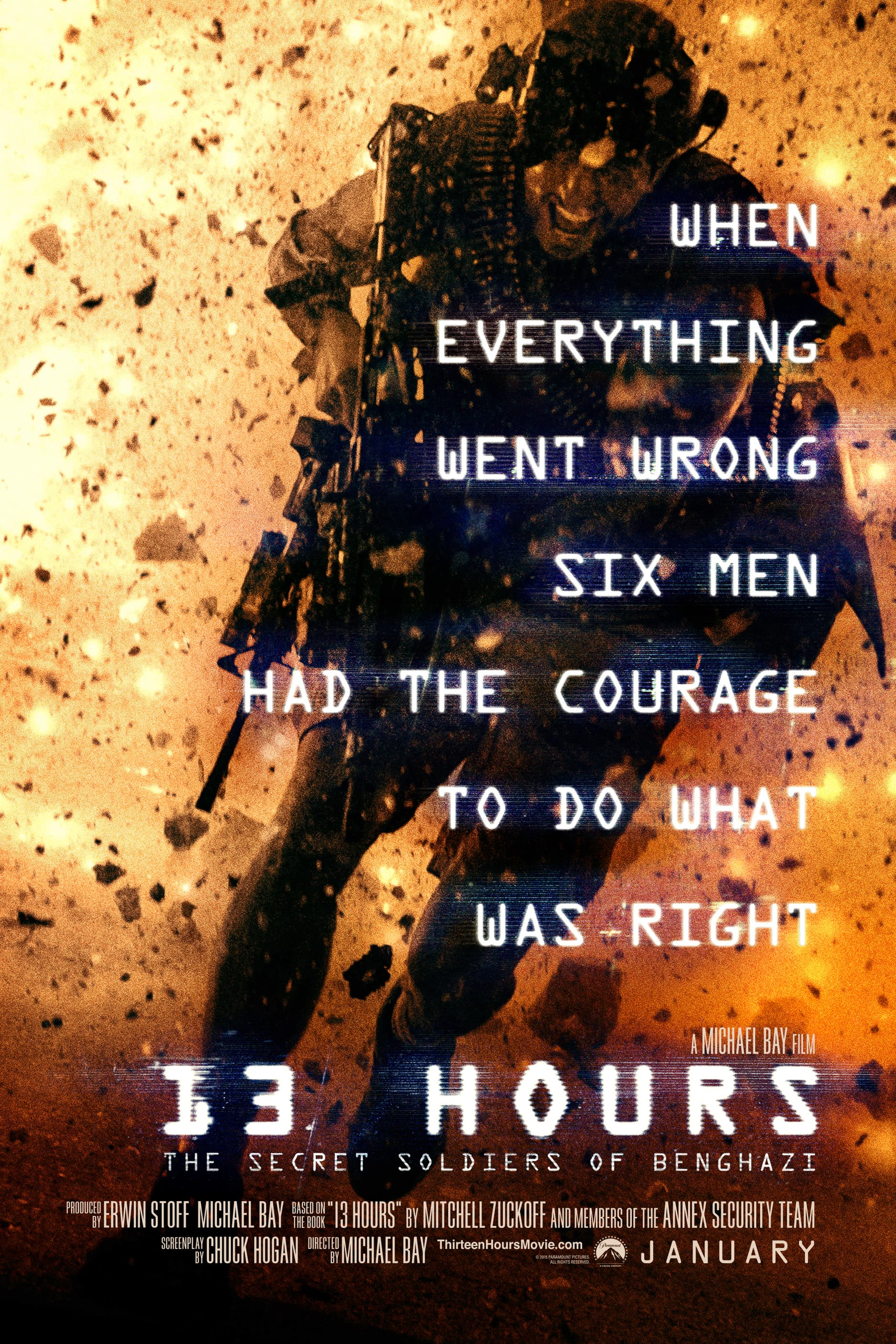 13 Hours: The Secret Soldiers of Benghazi HD