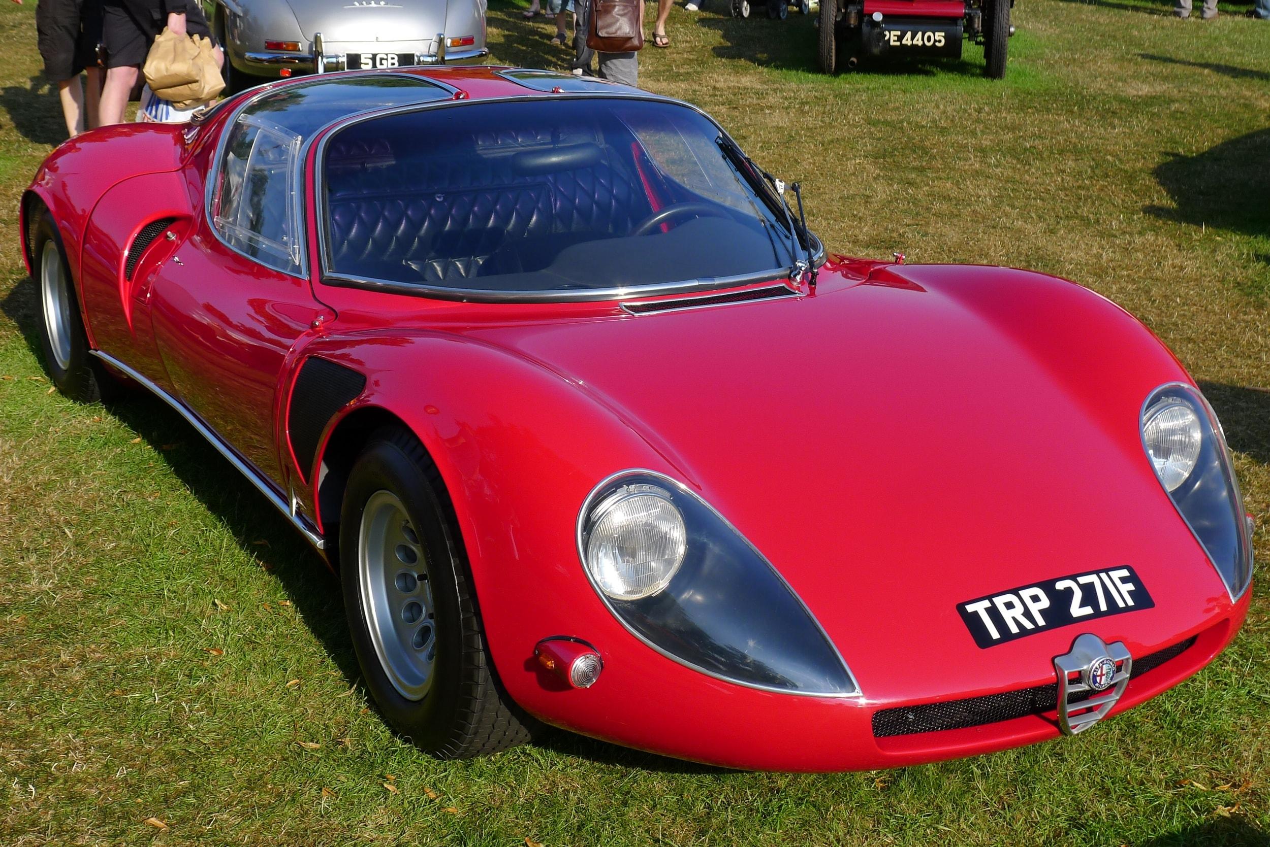 Alfa Romeo Tipo 33 Stradale HD