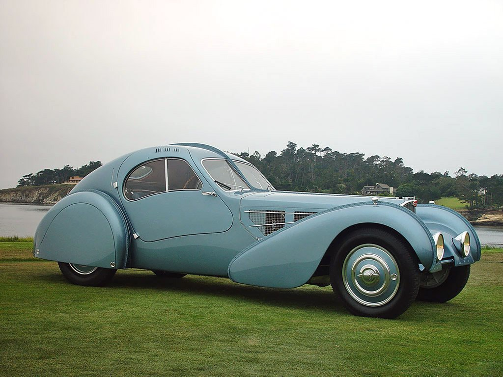 The most expensive car in the world: Bugatti Type 57SC Atlantic