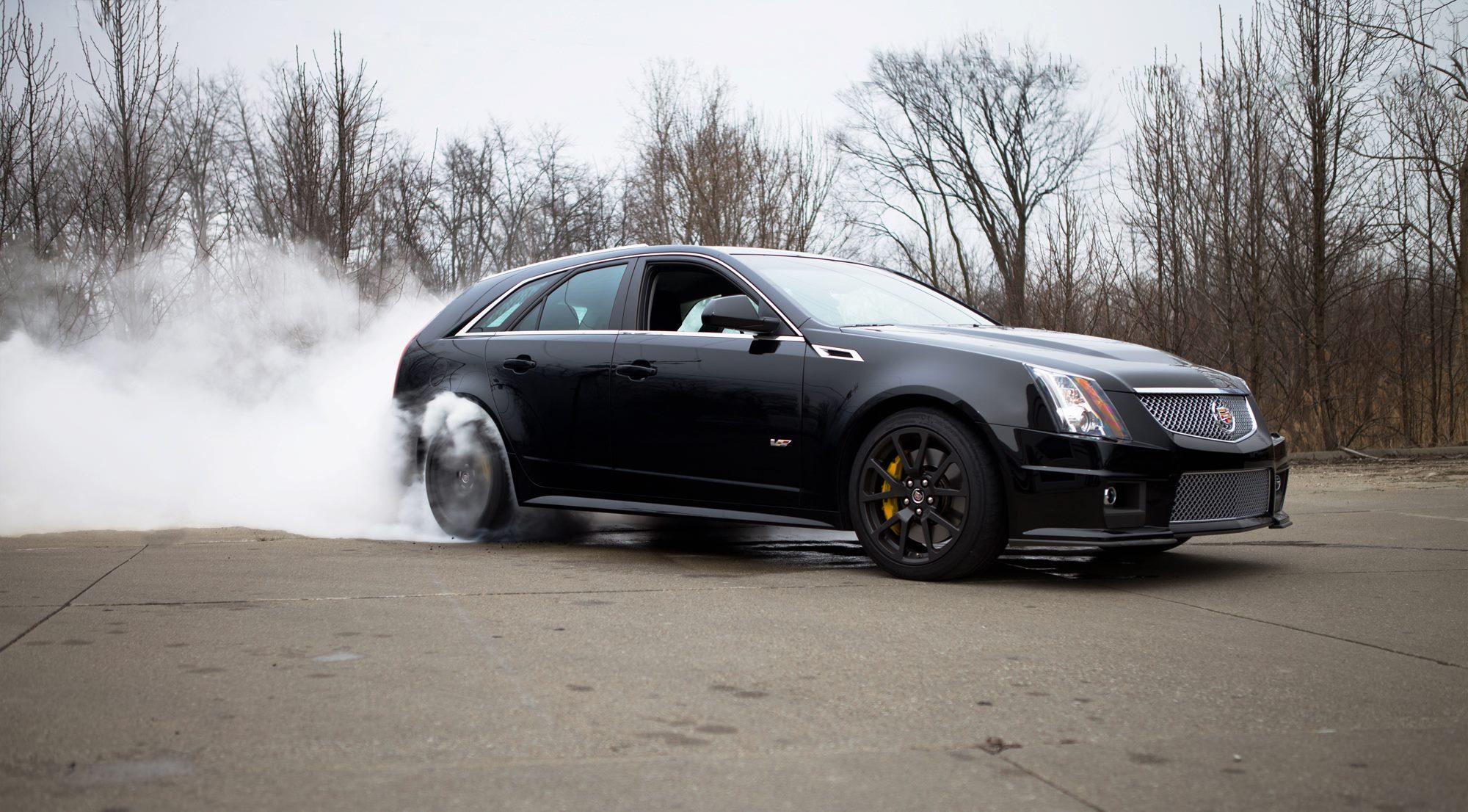 Cadillac CTS-V Wagon HD