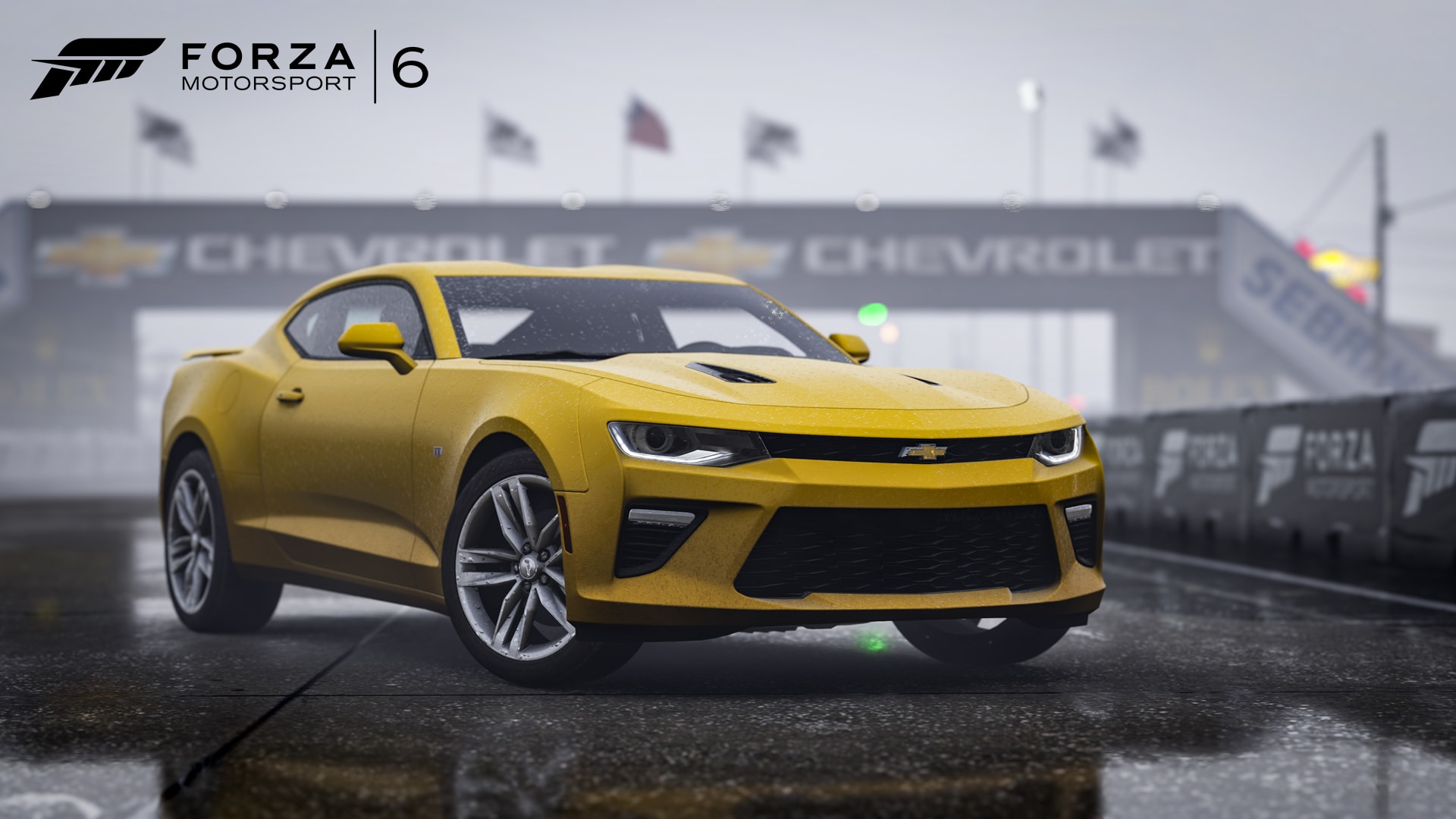 Chevrolet Camaro 6 HD