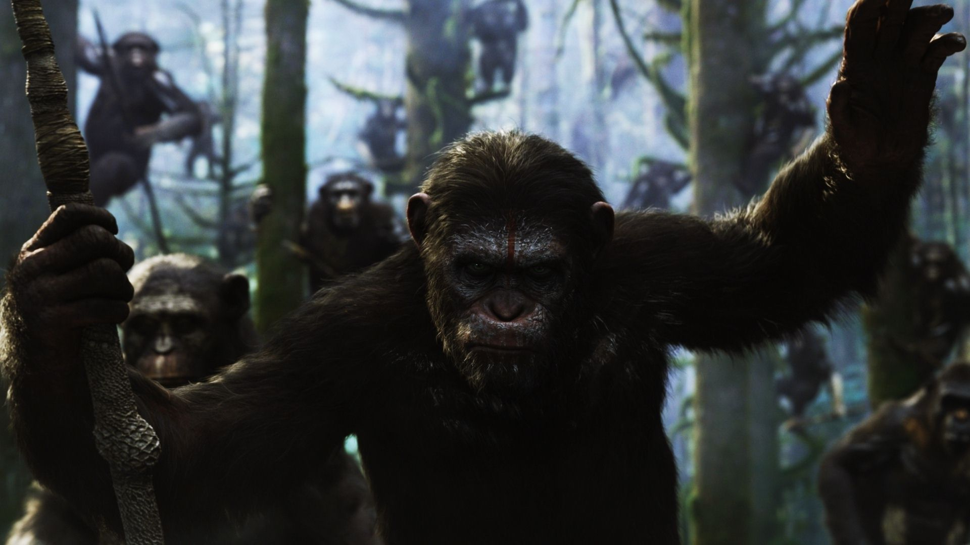 Dawn of the Planet of the Apes HD