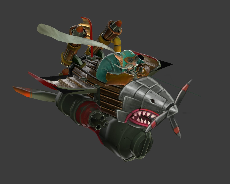 Dota2 : Gyrocopter desktop wallpaper