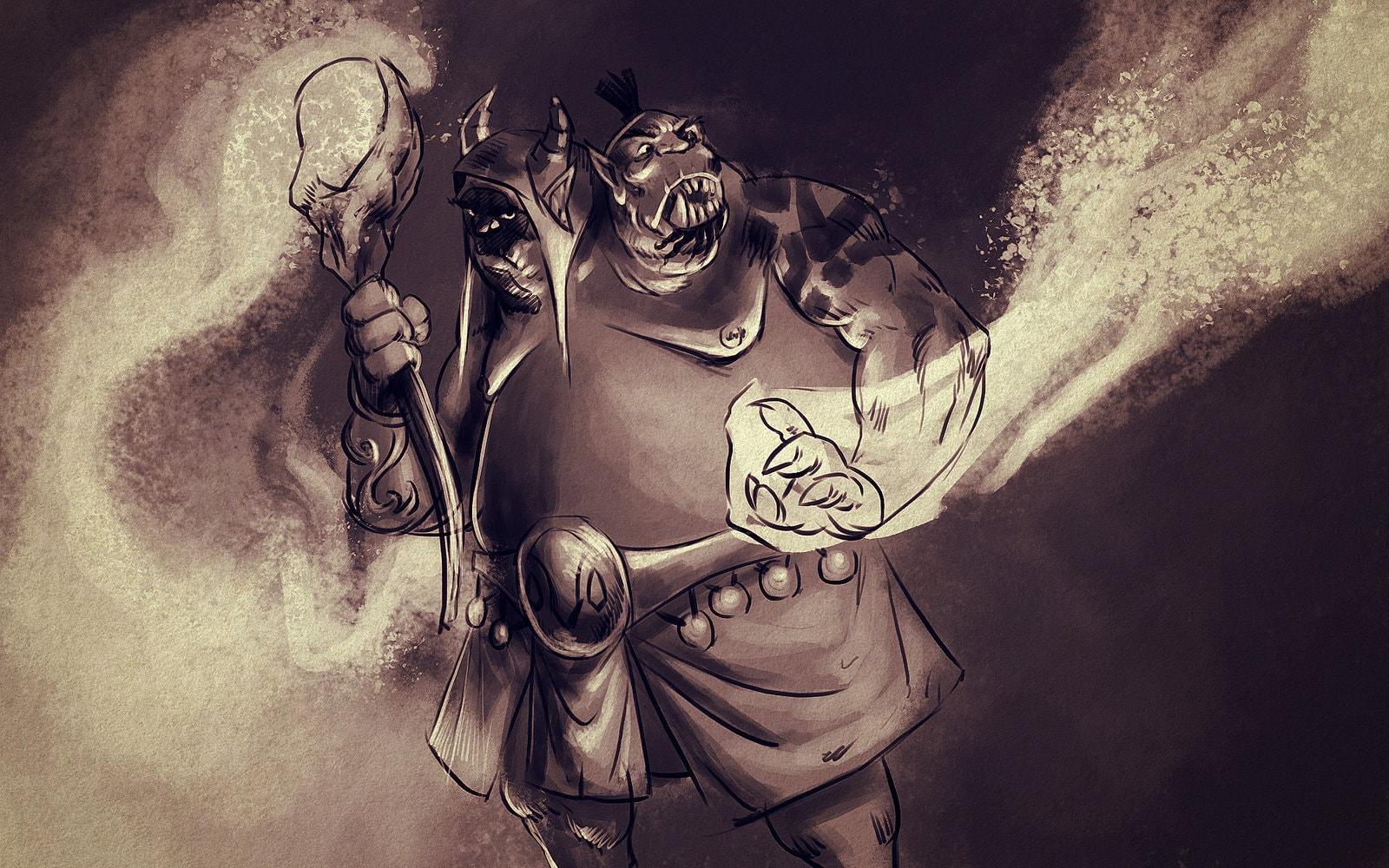 Dota2 : Ogre Magi Free