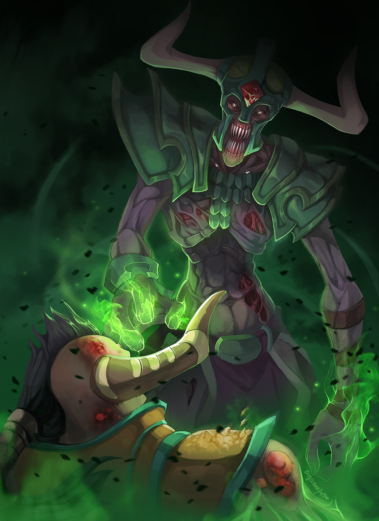 Dota2 : Undying iPhone wallpapers