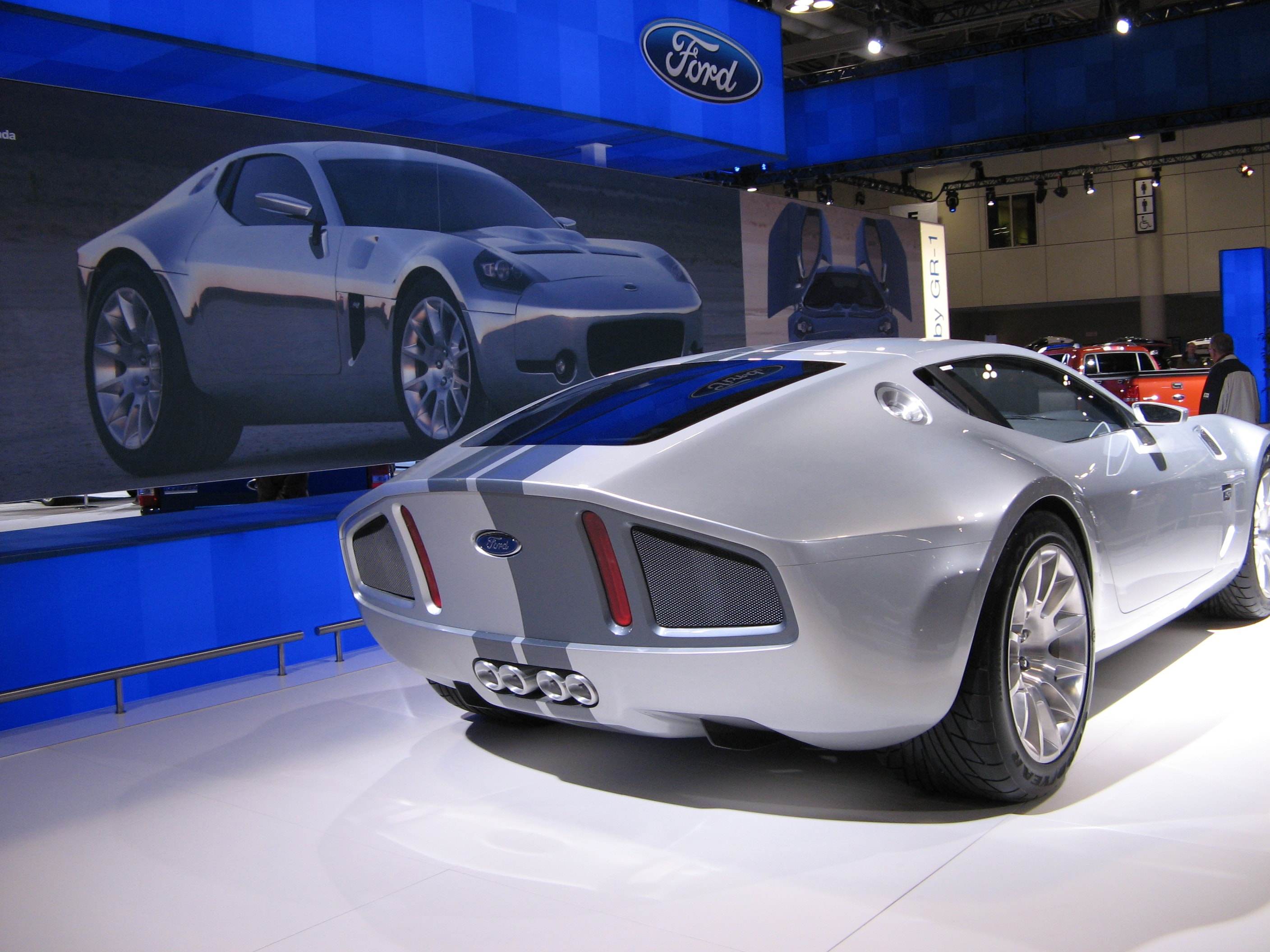 Ford Shelby GR1 Concept HD