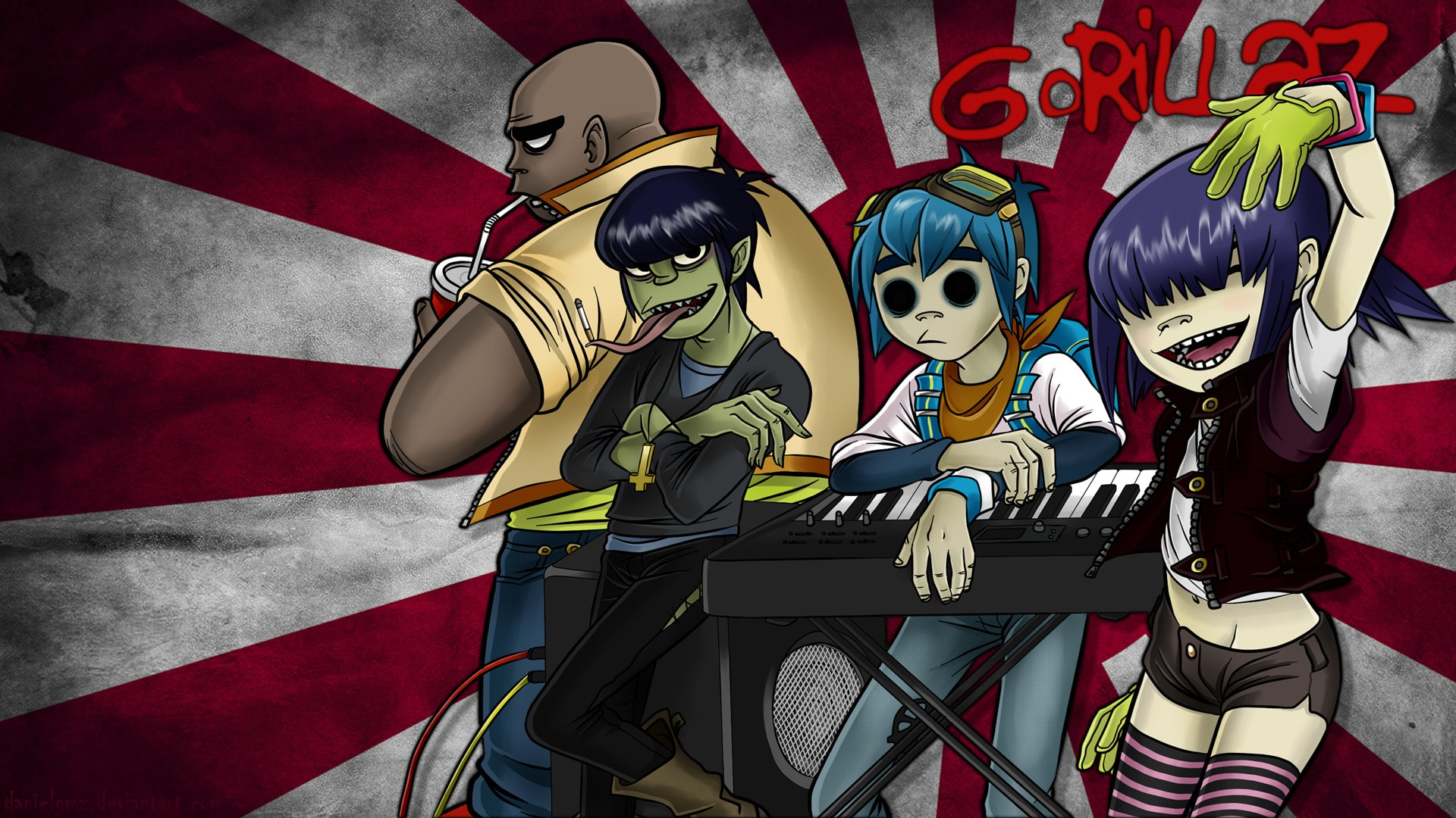 Gorillaz Hd Wallpapers 7wallpapersnet