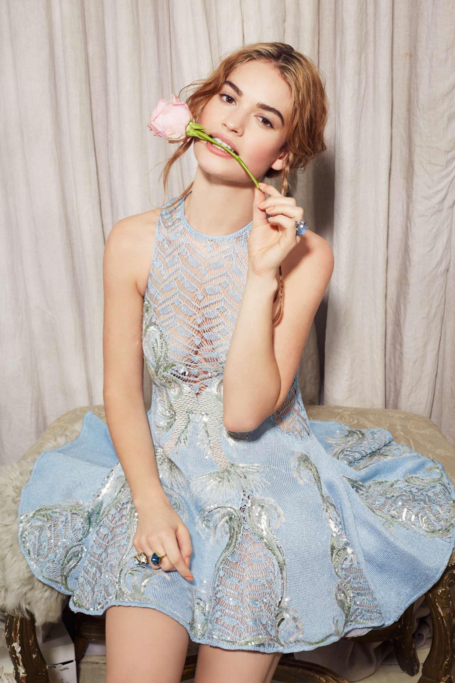 Lily James HD