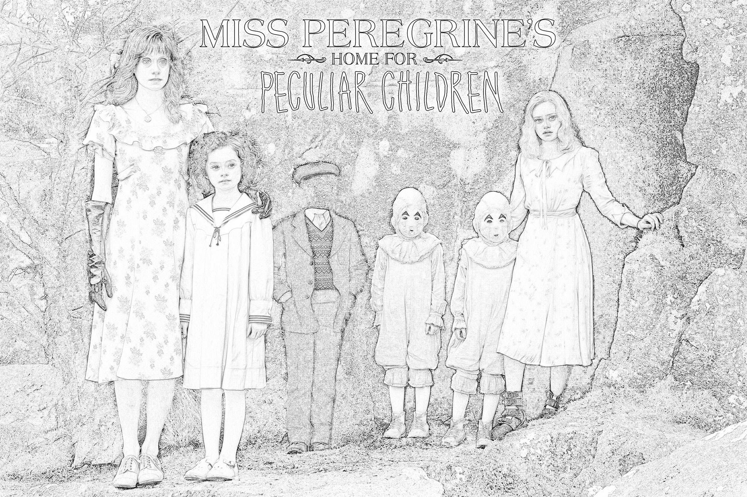 Miss Peregrine's Home for Peculiar Children HD