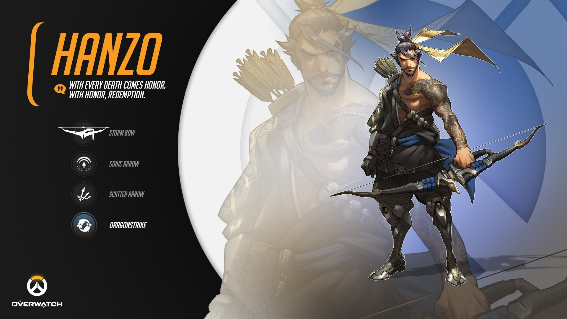 Overwatch : Hanzo HD