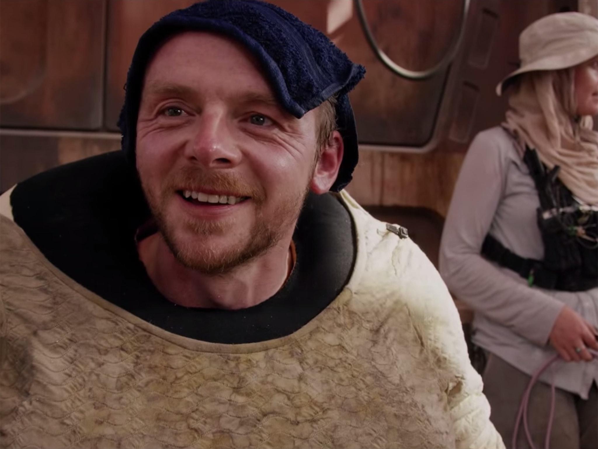 Simon Pegg HD