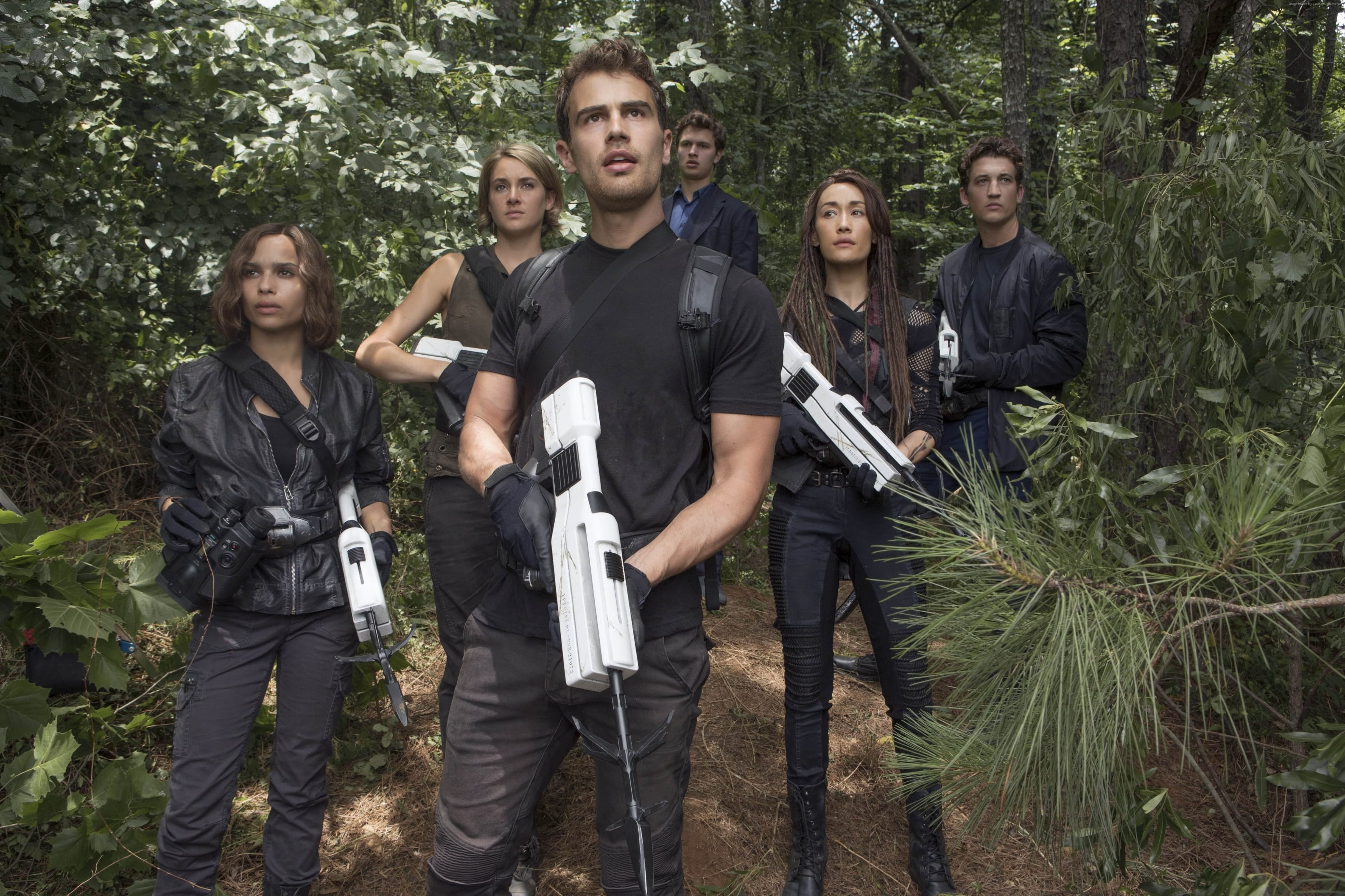 The Divergent Series: Allegiant widescreen