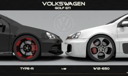 Volkswagen Golf GTI W12-650 Concept Desktop wallpaper