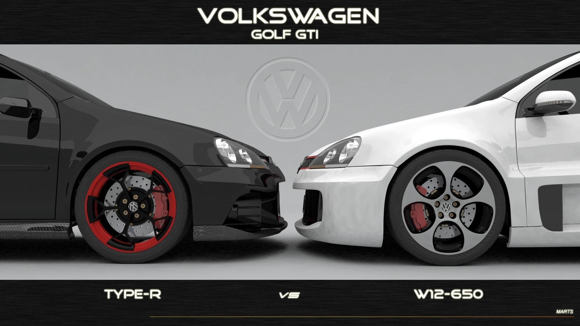 Volkswagen Golf GTI W12-650 Concept Desktop wallpaper