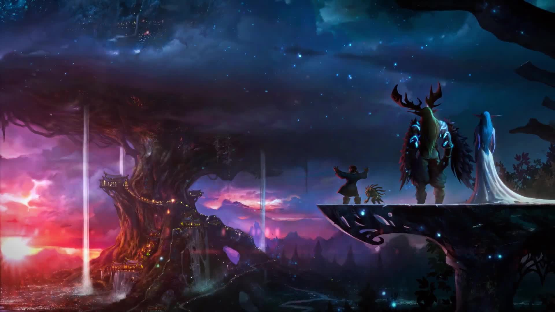 wow: malfurion stormrage hd desktop wallpapers | 7wallpapers