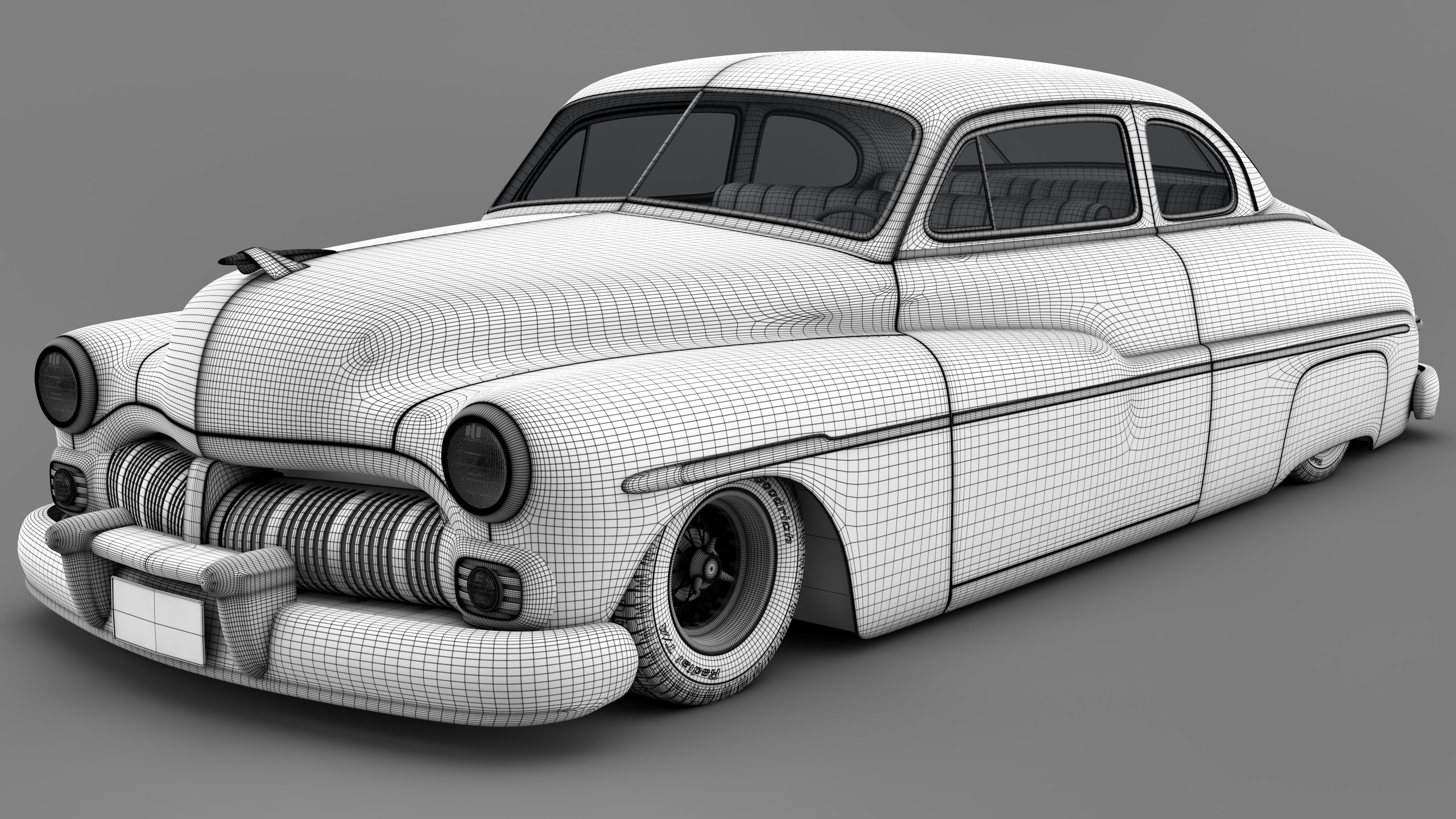 1950 Mercury Free