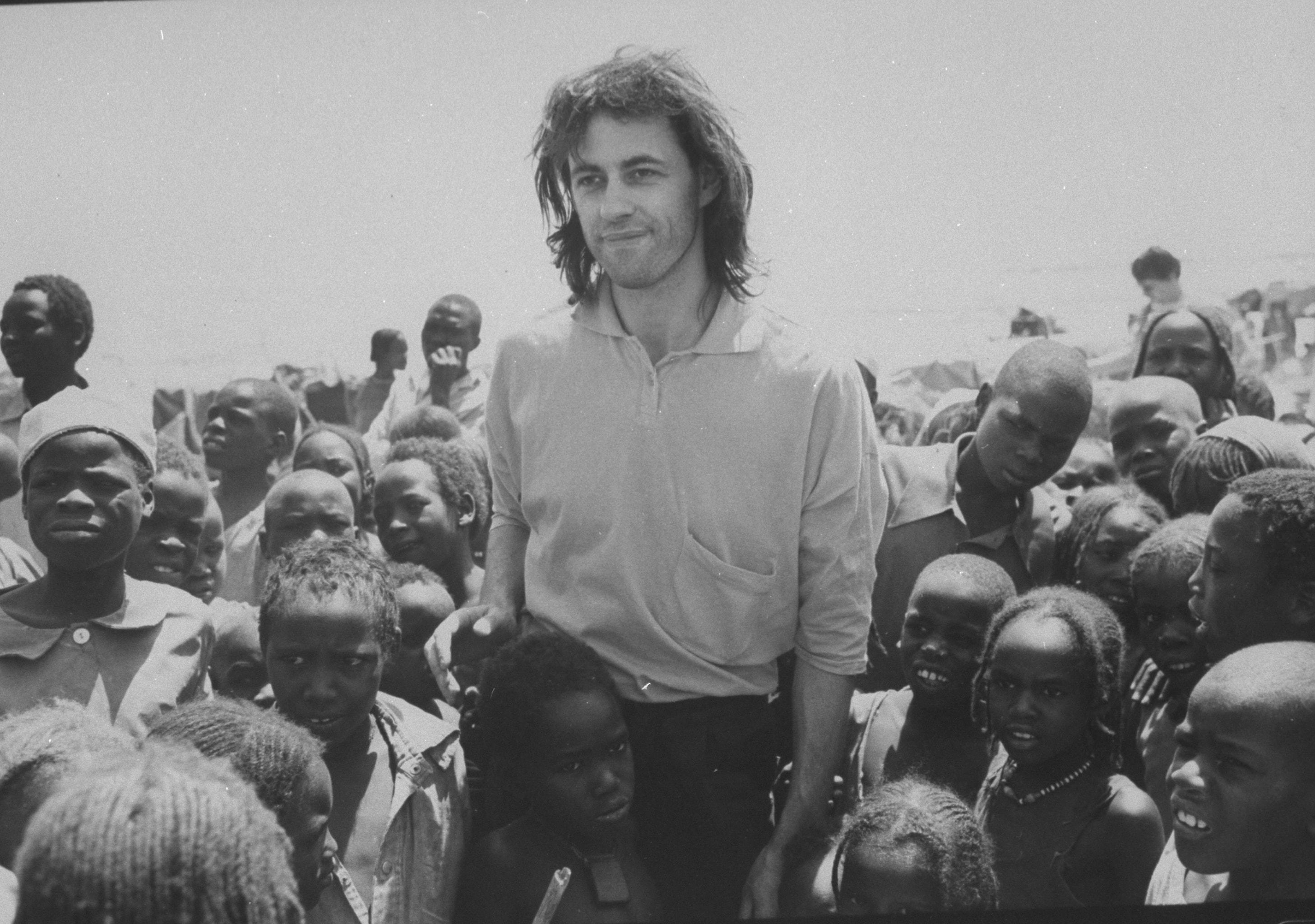 Bob Geldof Free