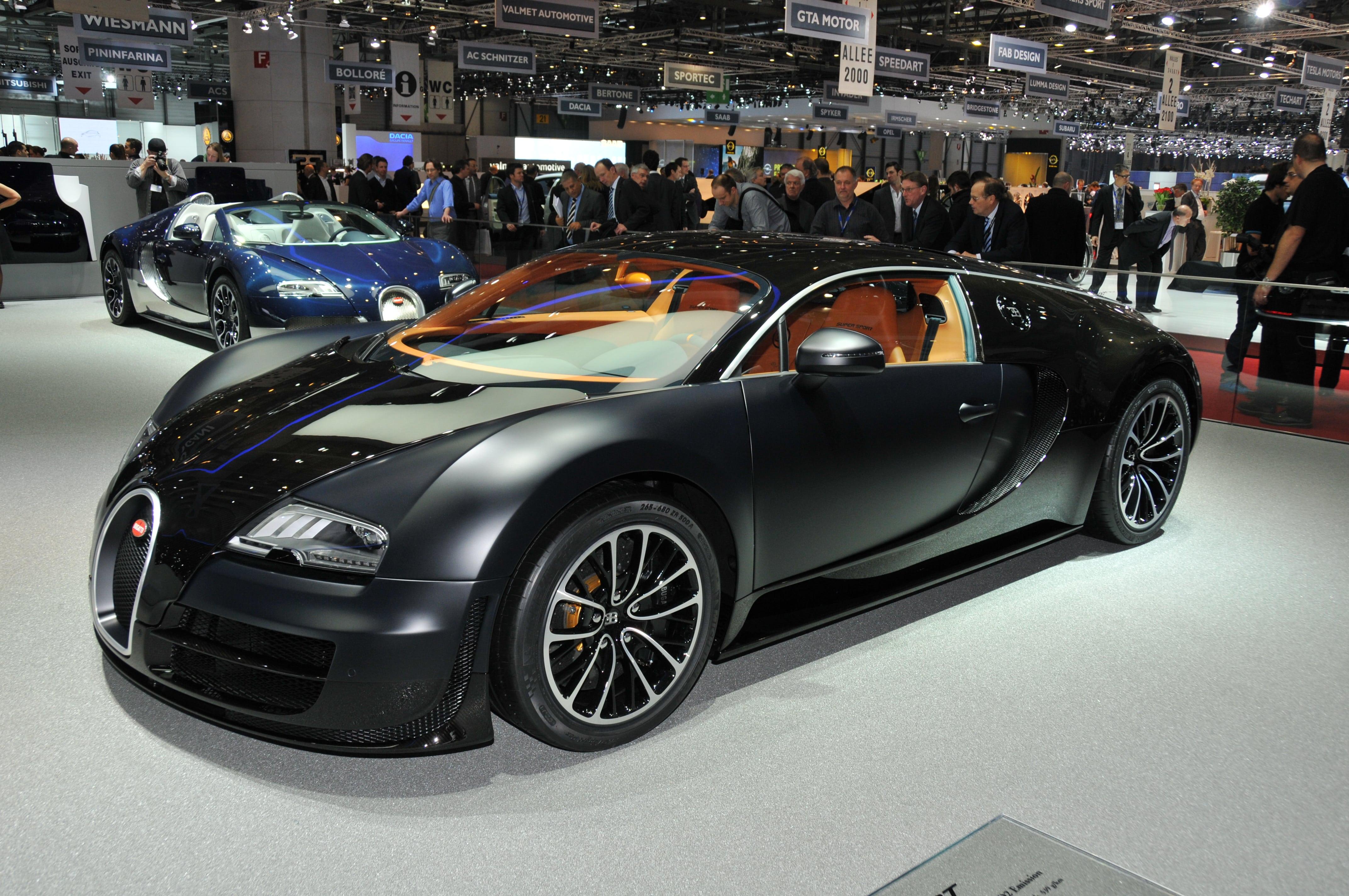Bugatti Veyron Super Sport Free