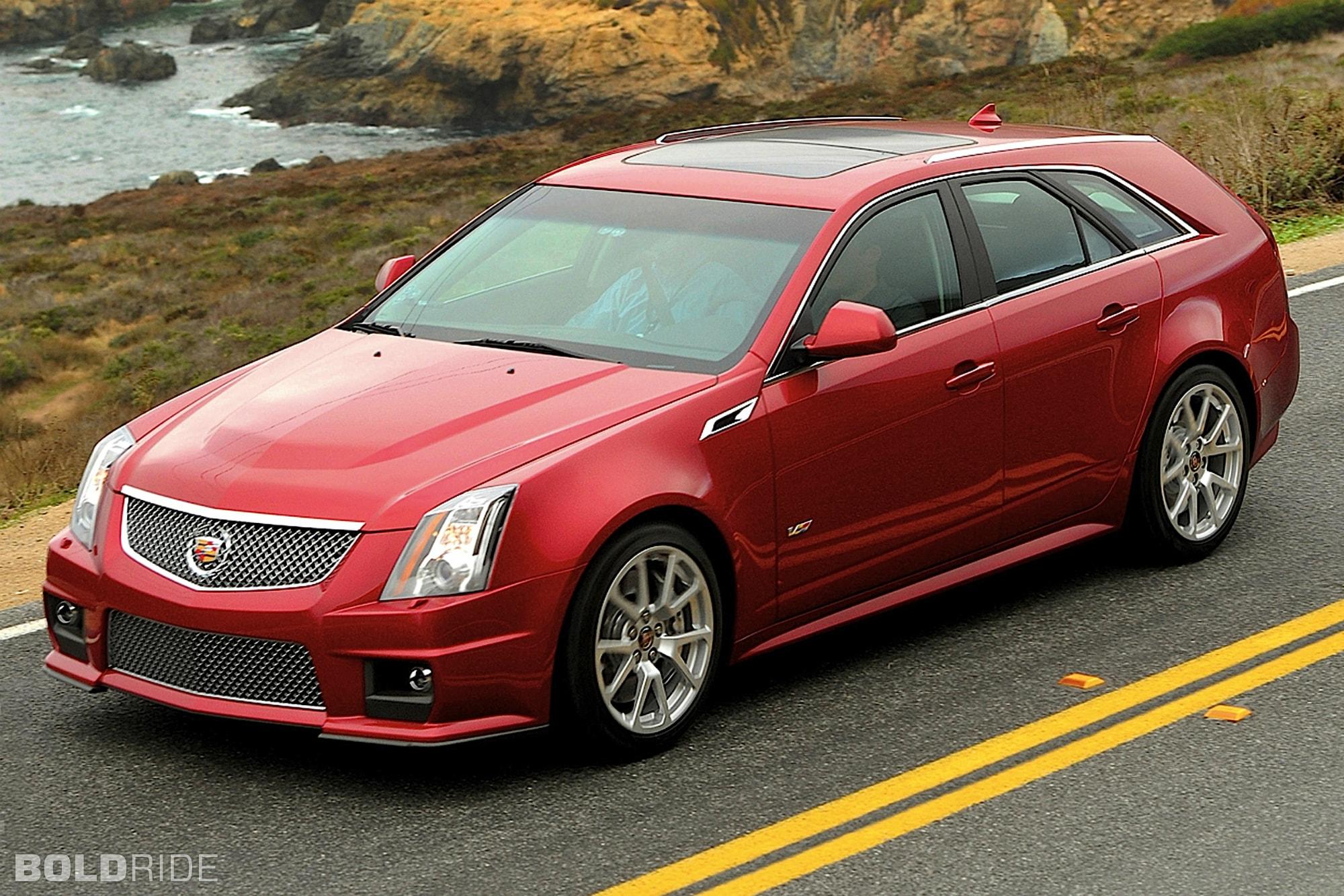 Cadillac CTS-V Wagon Free
