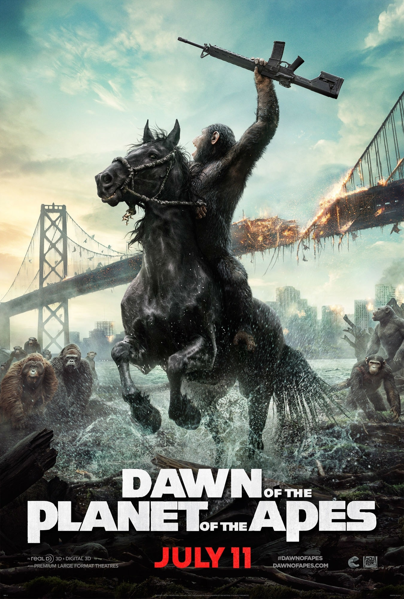 Dawn of the Planet of the Apes Free