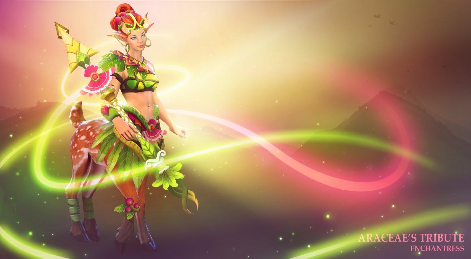 Dota 2 : Enchantress Free