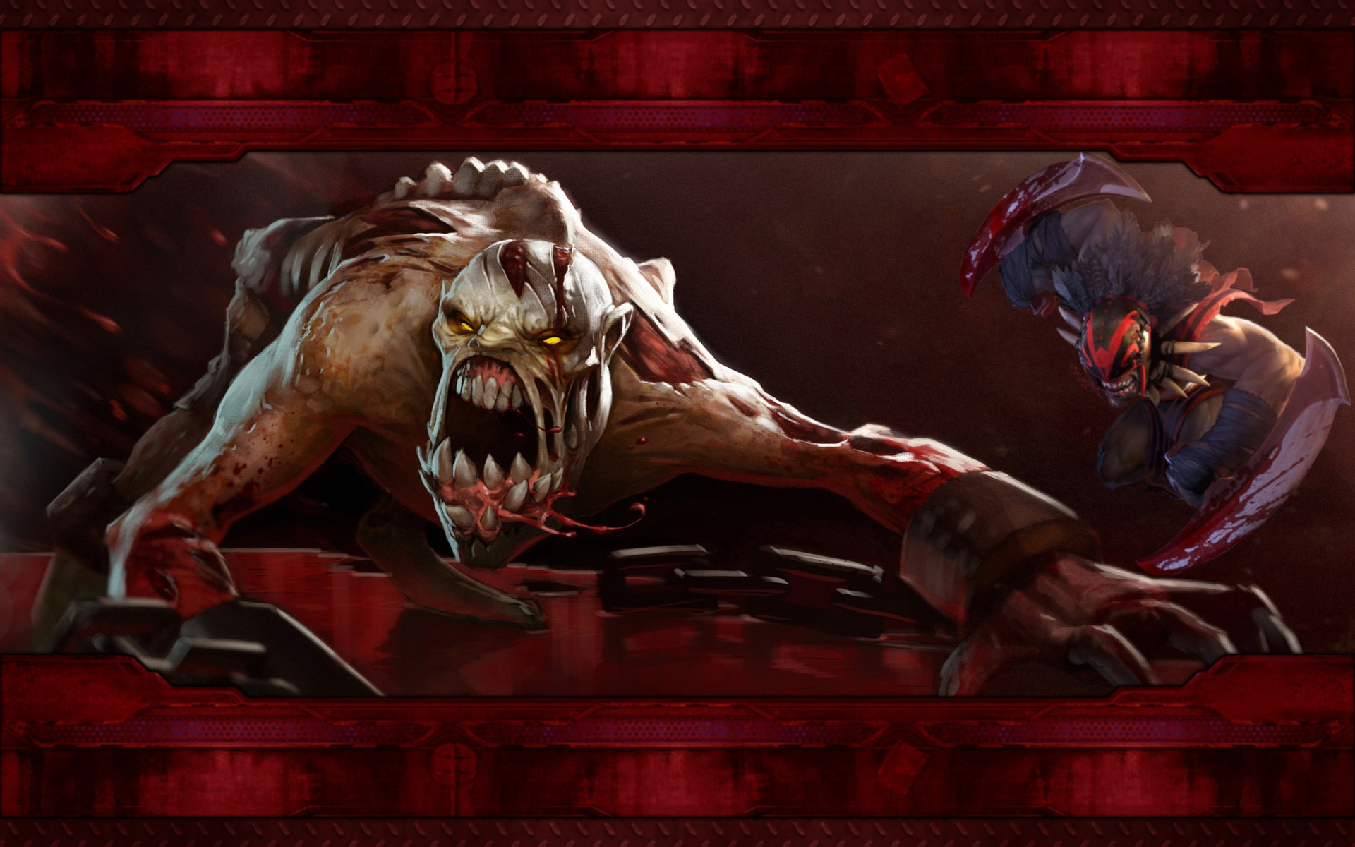 Dota2 : Bloodseeker HD
