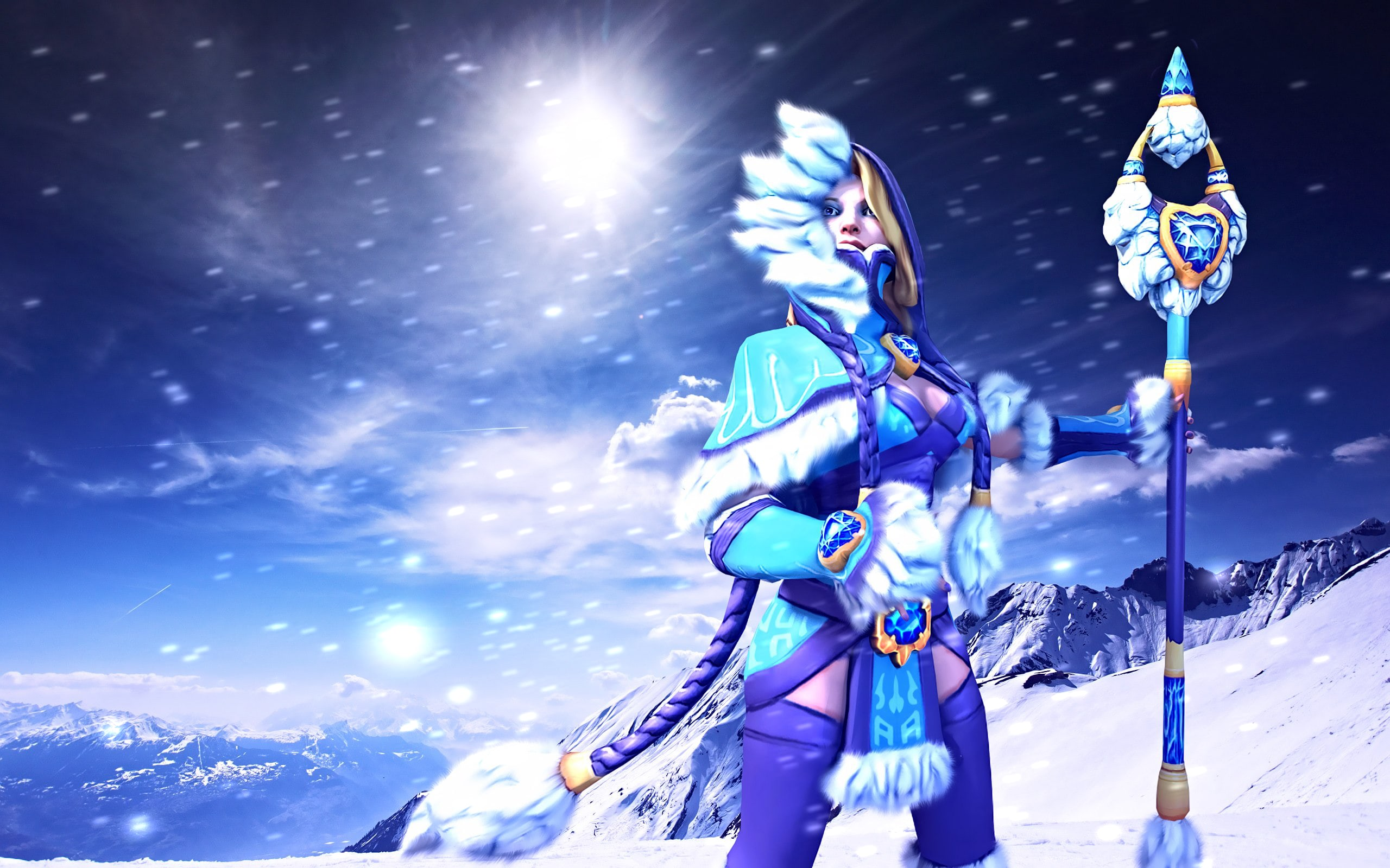 Dota2 : Crystal Maiden Free