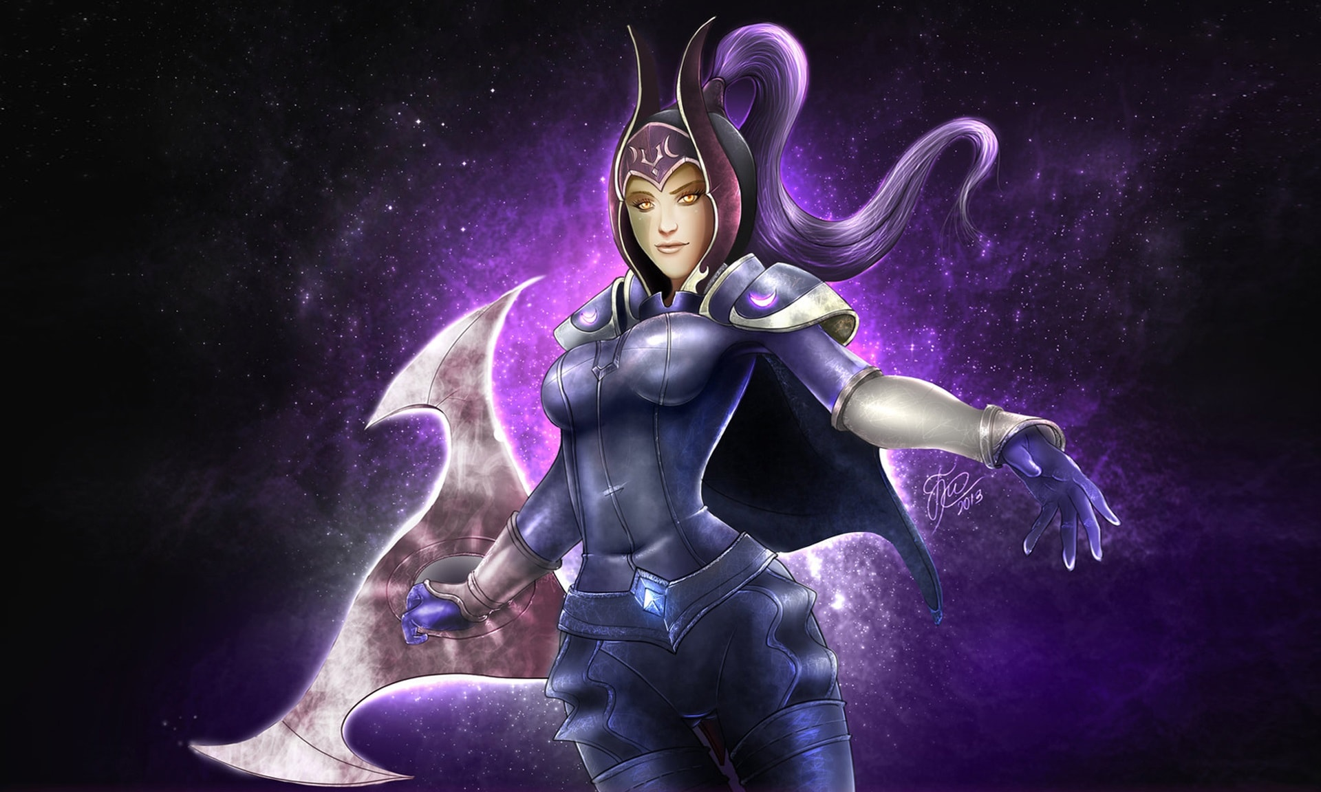 Dota2 : Luna widescreen