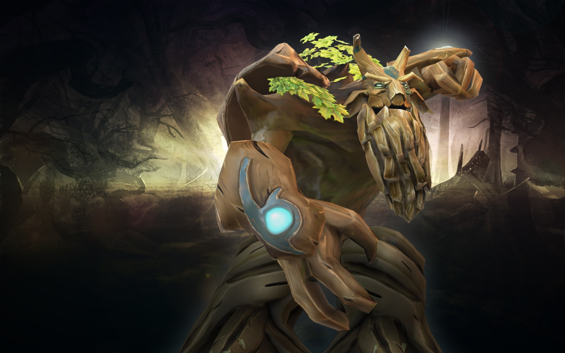 "Dota 2 Treant Protector Set - ""-Moonshard Overgrowth""- - YouTube"