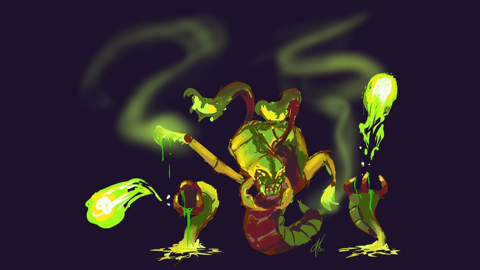 Dota2 : Venomancer High