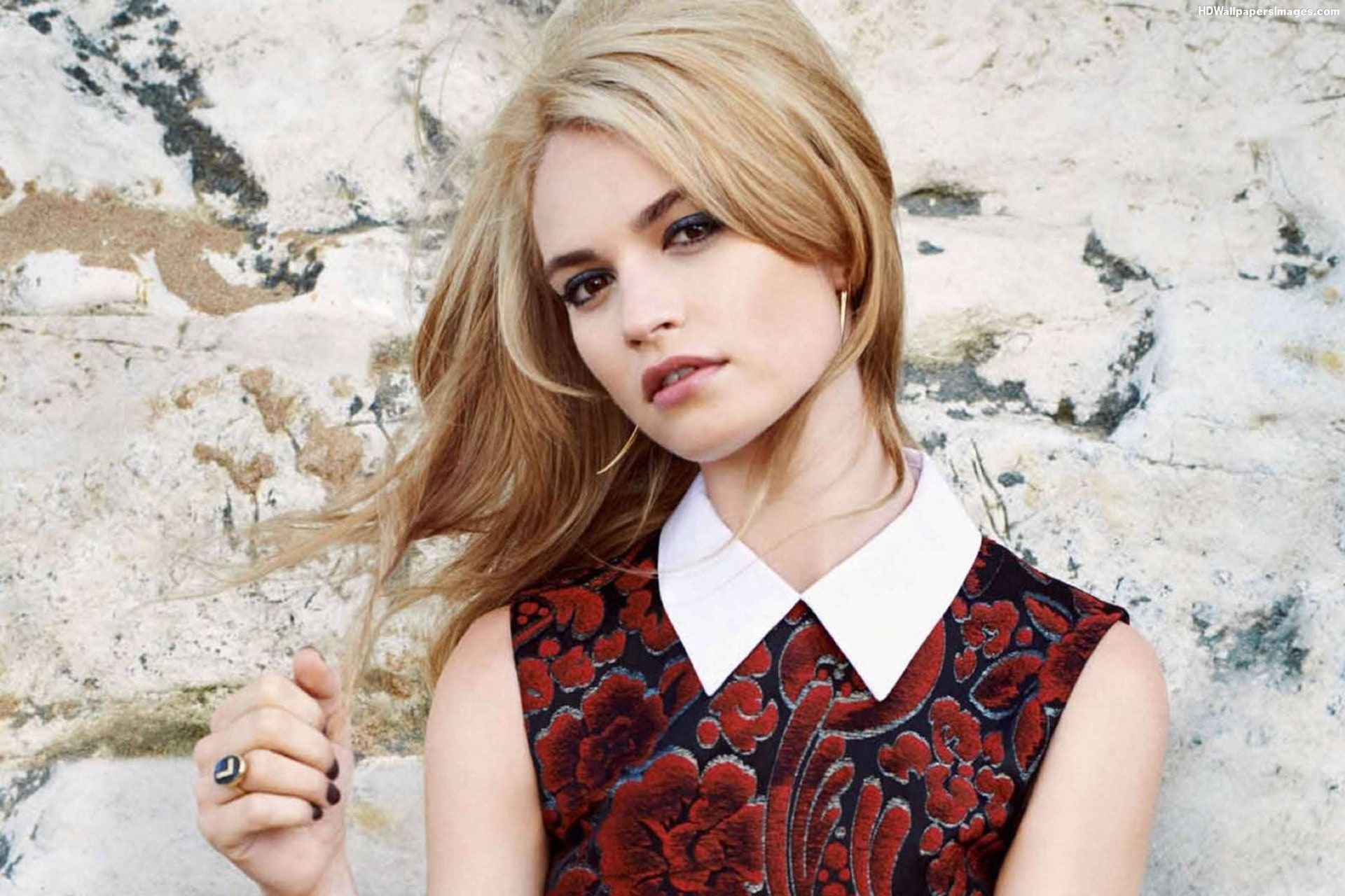 Lily James Free