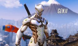 Overwatch : Genji Widescreen