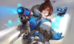Overwatch : Mei Widescreen