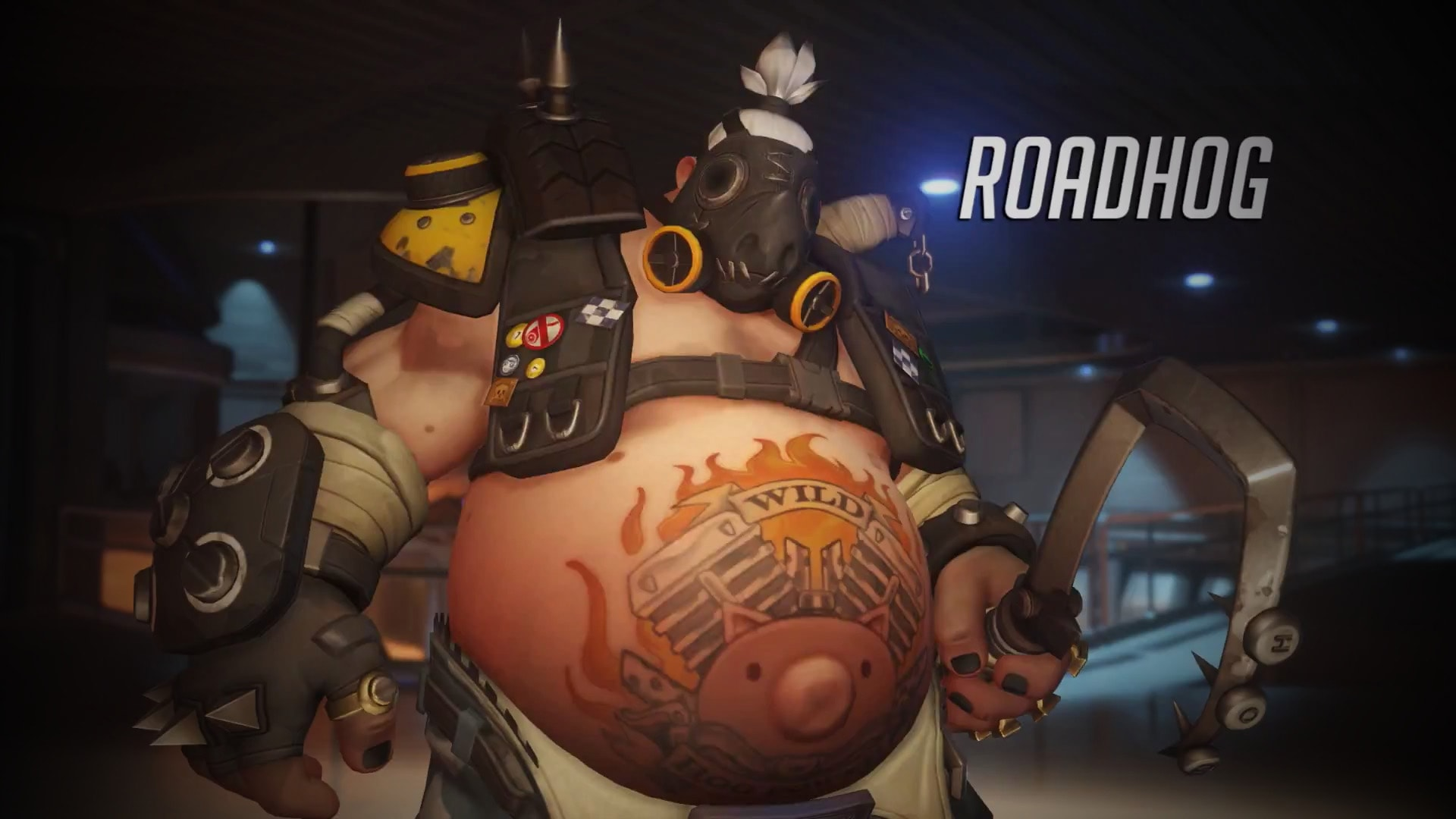 Overwatch : Roadhog Free