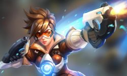 Overwatch : Tracer Widescreen
