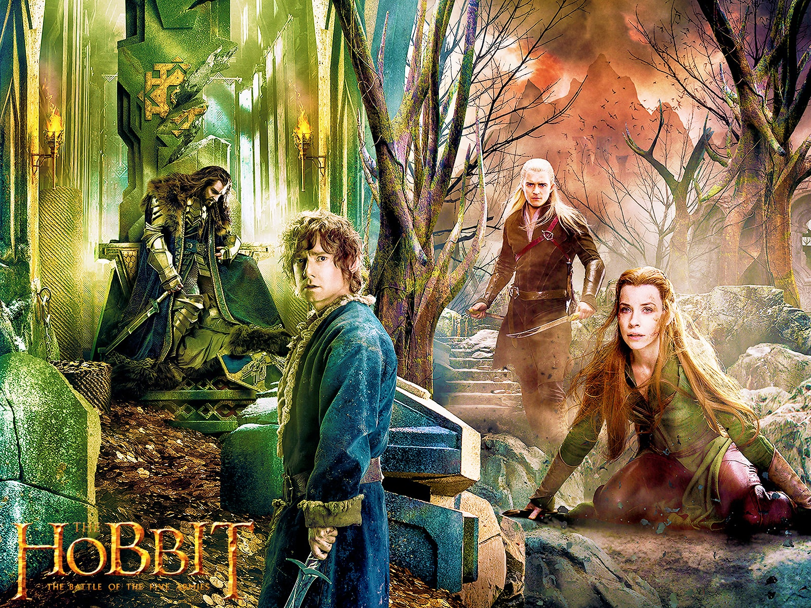 The Hobbit: The Battle Of The Five Armies Free