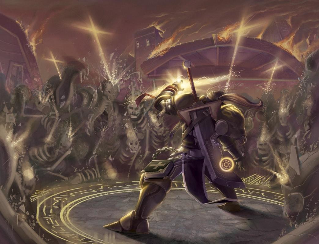 WOW: Uther the Lightbringer widescreen