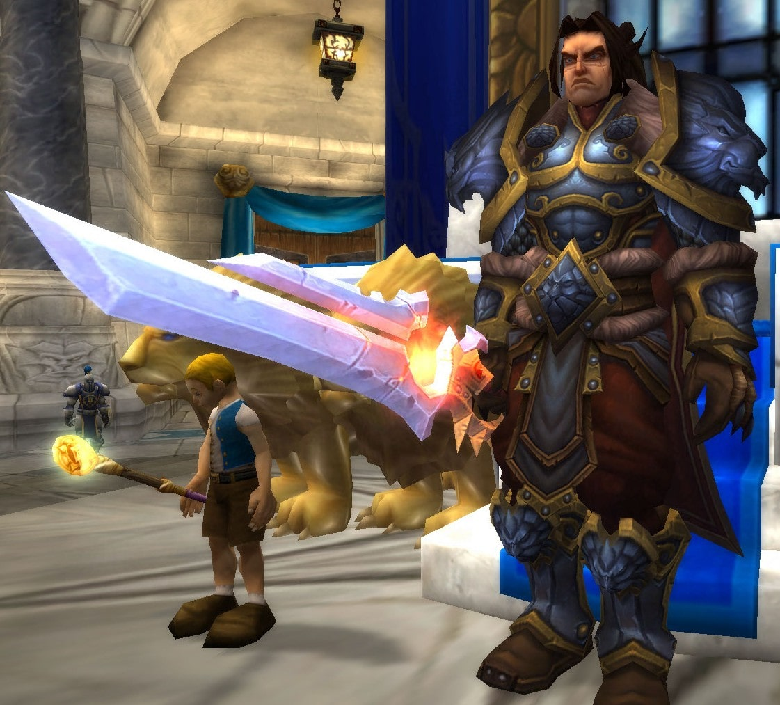 WOW: Varian Wrynn widescreen for desktop