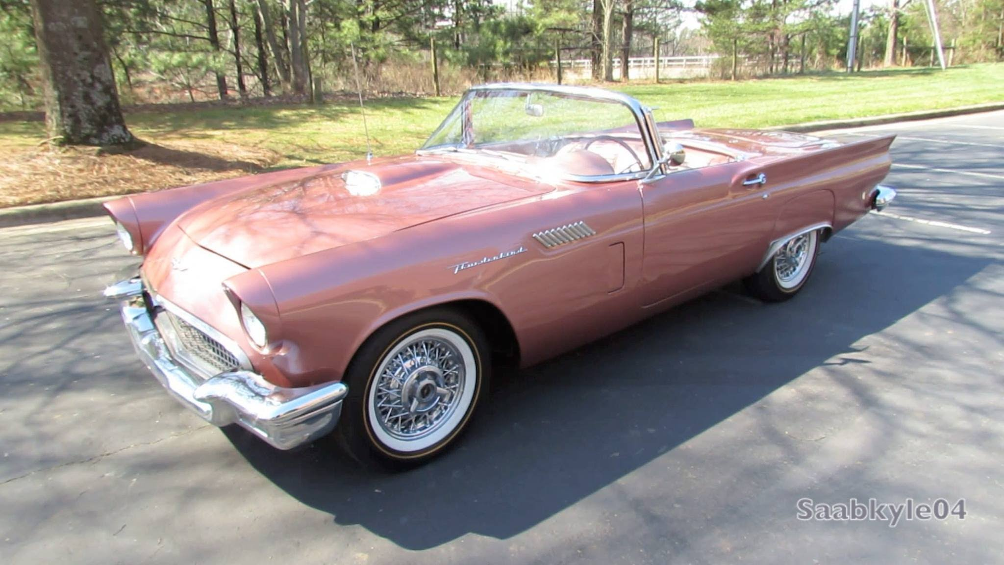 1957 Ford Thunderbird Widescreen