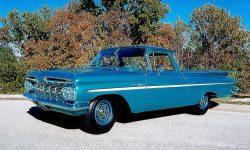 1959 Chevrolet El Camino Widescreen