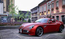 Alfa Romeo 8c Widescreen